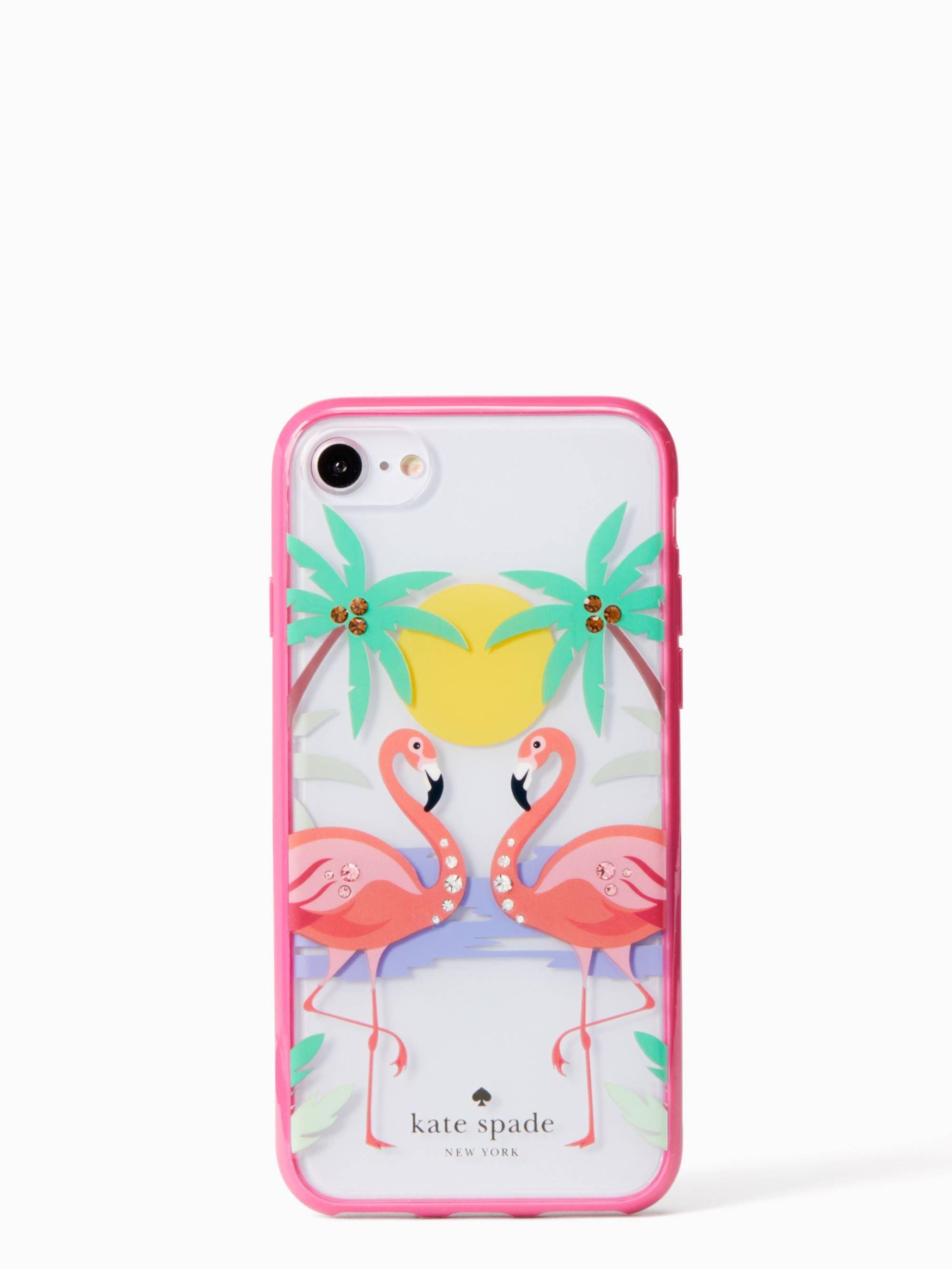 iphone 8 flamingo phone case