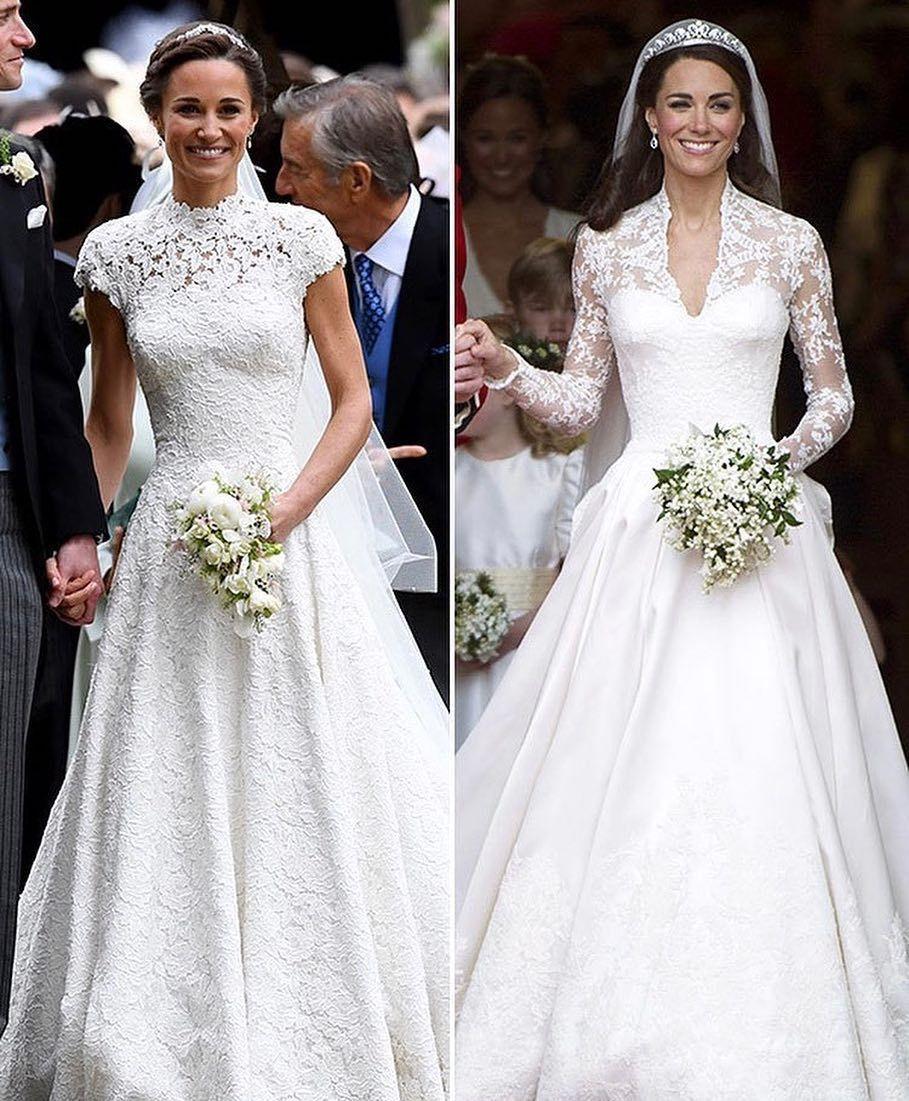 Pippa Middleton Wedding Dress Image May Contain 3 People Wedding In 2020 Kleider Hochzeit Kate Middleton Hochzeitskleid Pippa Middleton Hochzeit