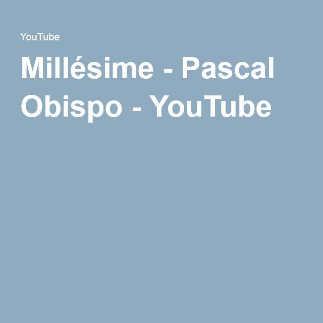 Millésime youtube