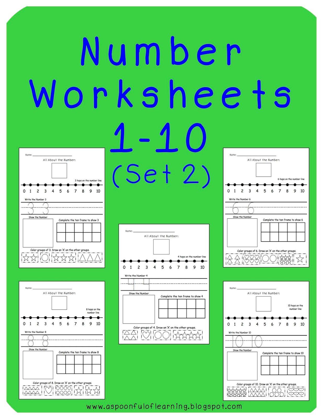Numbers Numbers Numbers Amp Freebies
