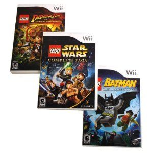 LEGO 3-Pack Wii Bundle (Video Game)  http://ww8.cookhousesinks.com/redirector.php?p=B004YB2FGS  B004YB2FGS