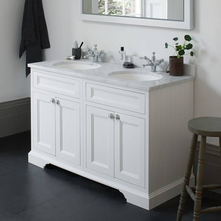 The Burlington Matt White Freestanding Double Vanity Unit  Basin will provide both a elegance and functionality to your bathroom How Buy Cheap Bathroom without Compromising Quality
