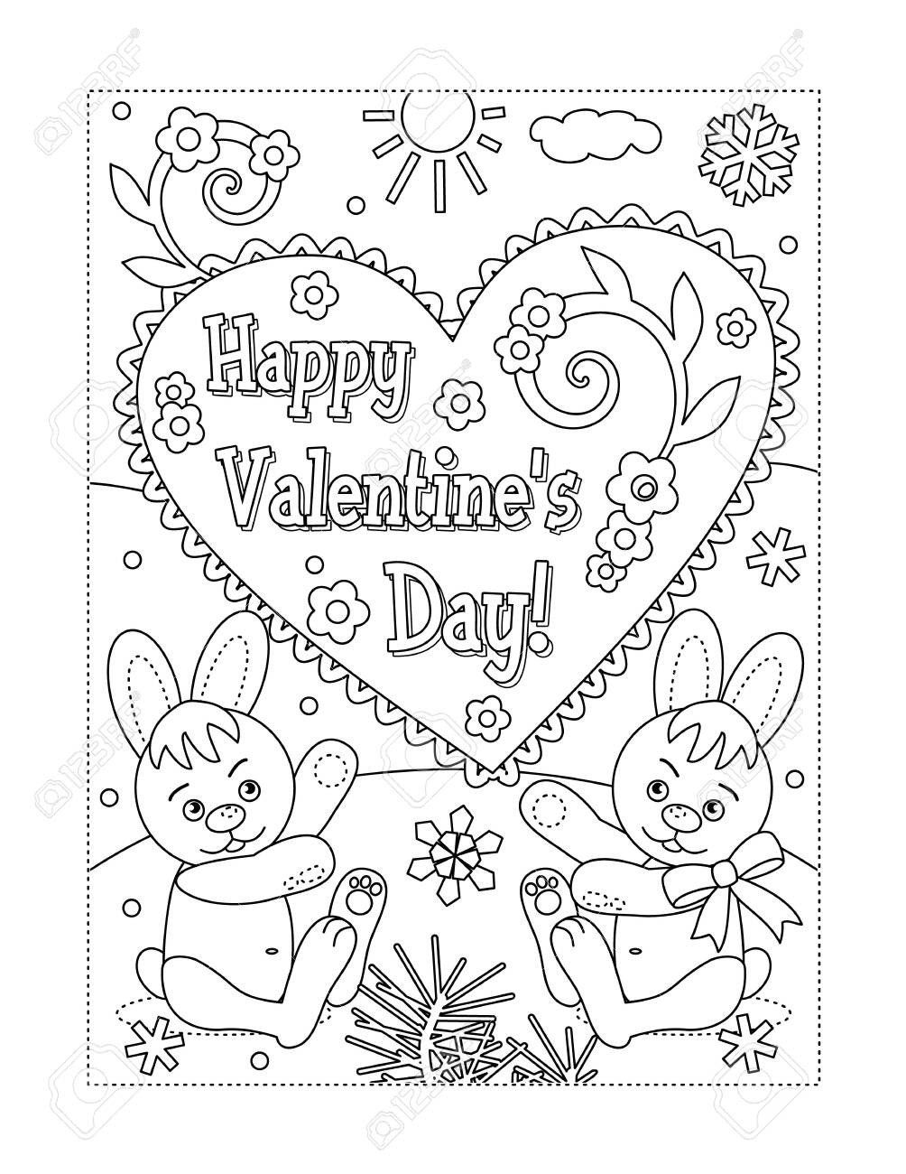Color By Number Valentines Day Coloring Book Coloring Book Valentines Day Pages For In 2020 Valentines Day Coloring Page Valentine Coloring Pages Valentine Coloring