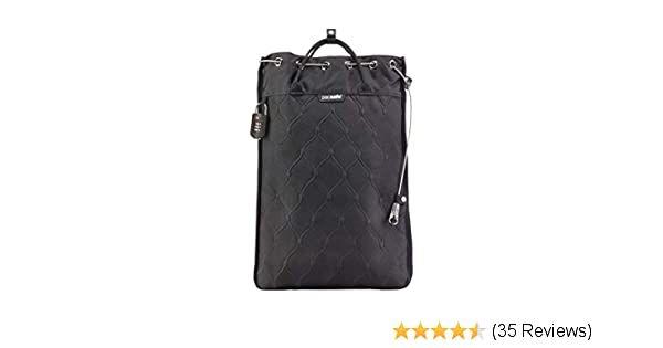 PacSafe Travelsafe 12L GII portable safe Umhängetasche, 52 cm, 12 liters, Schwarz (Black 100): Amazon.de: Koffer, Rucksäcke & Taschen