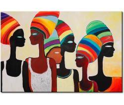 Tableaux Africains Et Ethniques Paysages Africains Elephantes