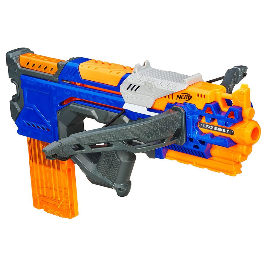 Nerf have released a brand new toy gun… and it can blast 100 .