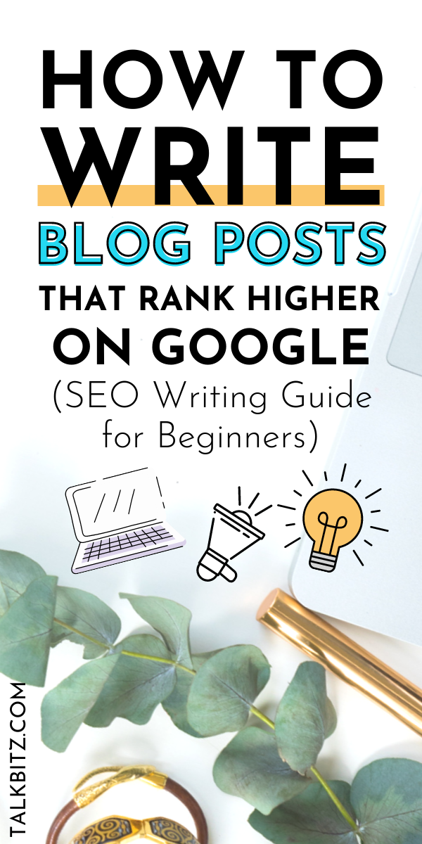 SEO Writing Guide for Beginners: How to Write Blog