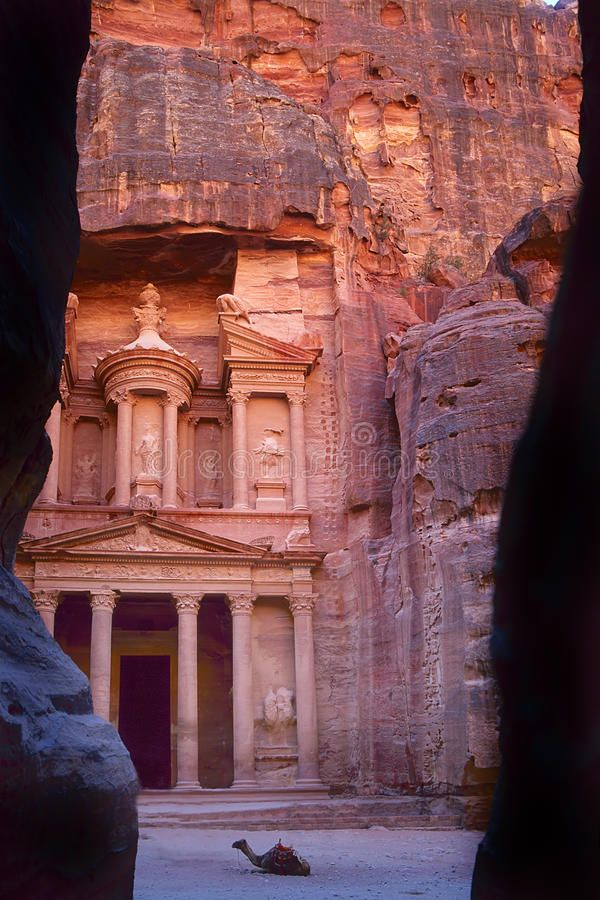 The Khaznet in Petra, Jordan. The old city of Petra in Jordan was carved out the , #sponsored, #city, #carved, #Jordan, #Khaznet, #Petra #ad #petrajordan