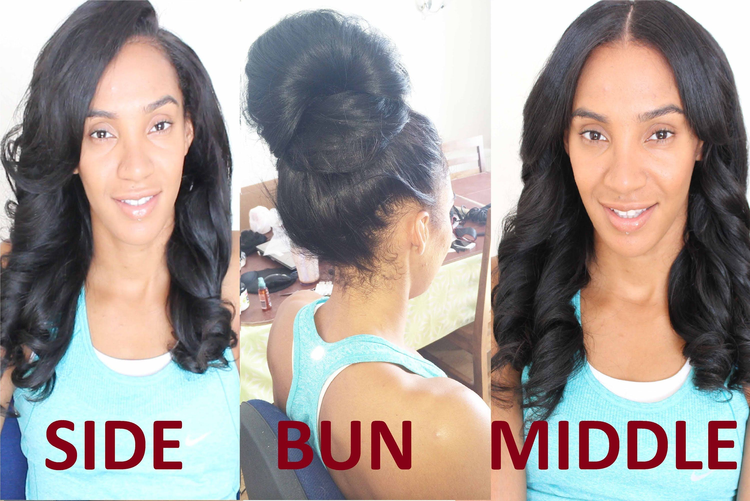 The Two Part Versatile Weave Flip Over Sew In Weave Hairstyles Sew In Braids Sew In Ponytail