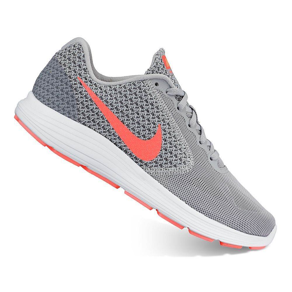 new style b58e2 51cd7 Nike Revolution 3 Women s Running Shoes, Size  10.5 Wide, Grey Other