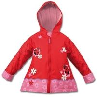 Kids Ladybird Raincoat from @Lovably Me