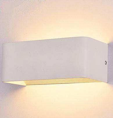 Amzdeal 6W Applique Murale Intérieur LED Moderne pour Décoration et
