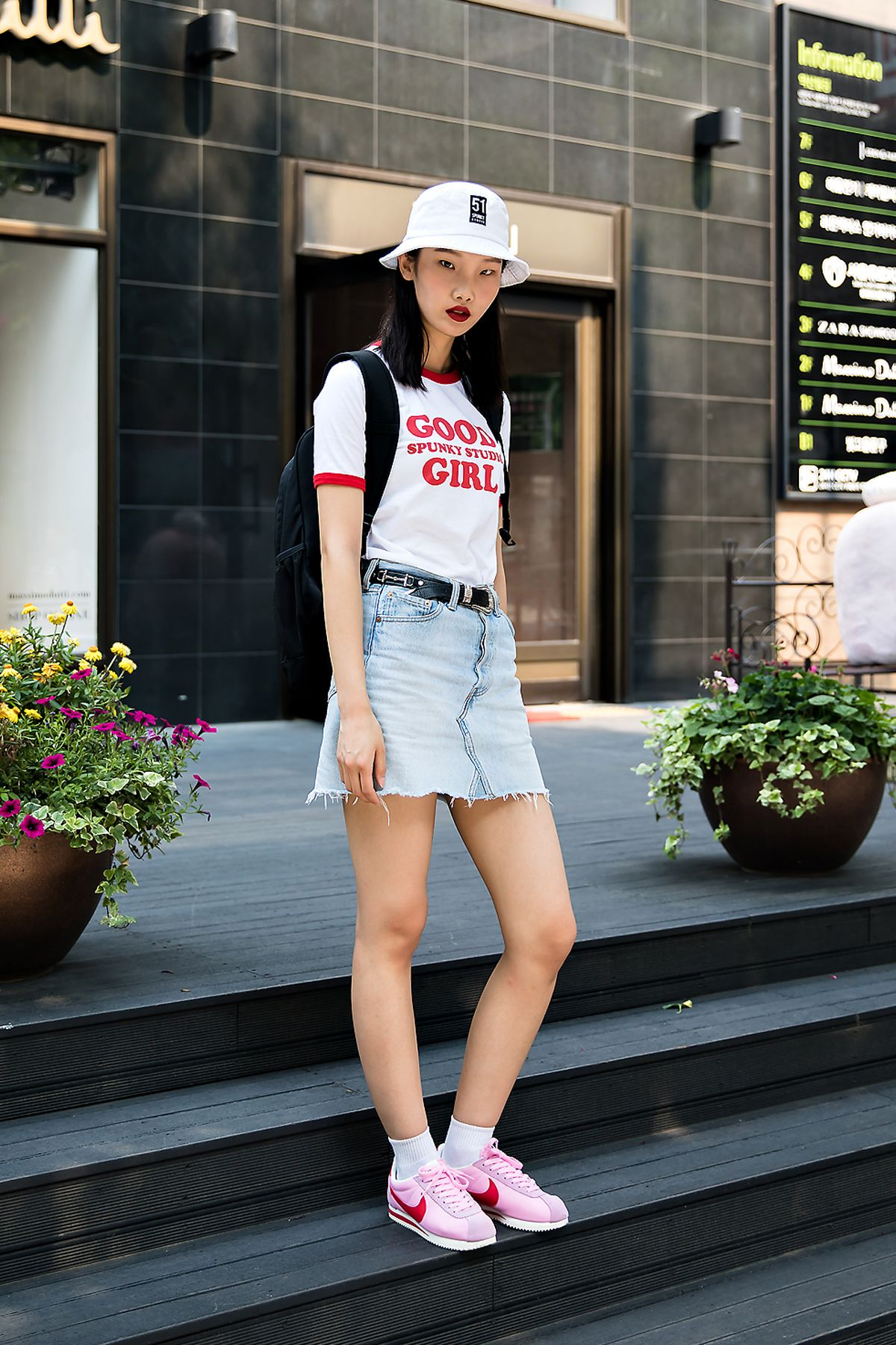 Kim Seohyun, Street Fashion 7 in Seoul  Korean street fashion