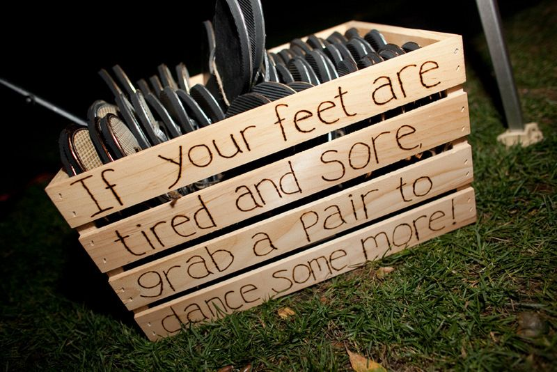 If your feet are tired and sore, grab a pair to dance some more!  pretty sure you could score a tone of these at ON!