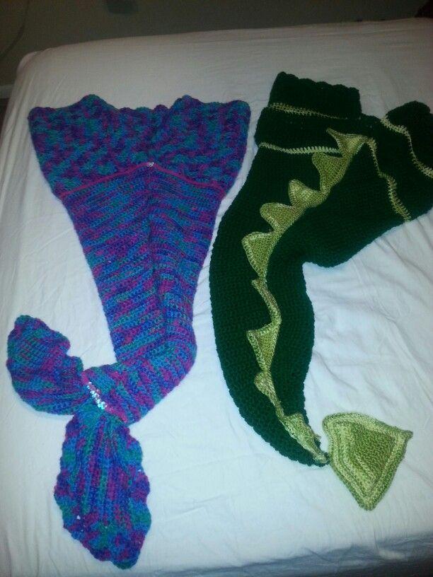 Dragon Tail Blanket Pattern, Dinosaur Tail Blanket, Dragon Crochet ...