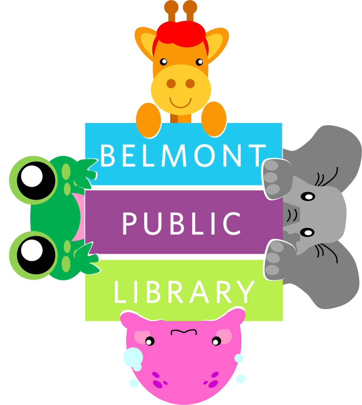 Children S Logo All Animals Childrens Logo Library Signage Public Library