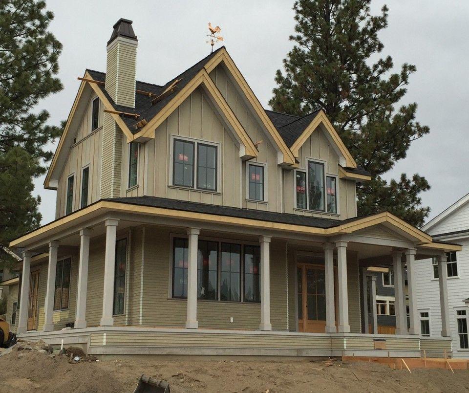 FarmhouseFarmhouse Style House Plan Bend Oregon Farmhouse Style