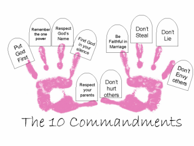 Looking For An Easy Way To Teach The 10 Commandments Purchase The Golden Thread Of Truth S 10 Commandments Craft Ten Commandments Craft Sunday School Lessons