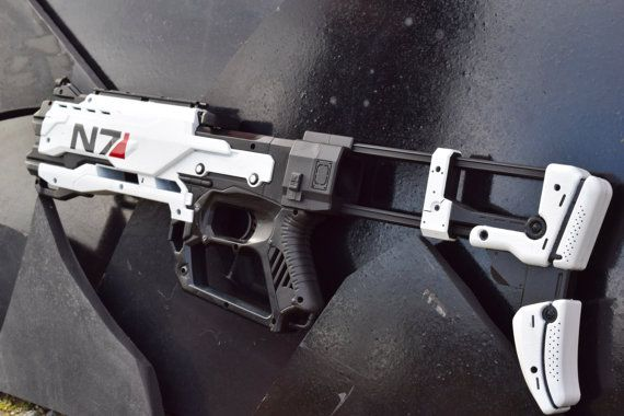 N7 Crossfire Custom Nerf by Cave76Designs on Etsy