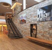 Eingangsbereich im Wellness Resort Lindenhof