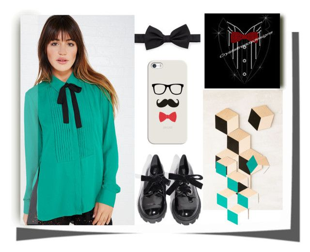 """""""tuxedo shirts"""" by ajiyfun ❤ liked on Polyvore featuring Wet Seal, Areaware, Lanvin and Casetify"""