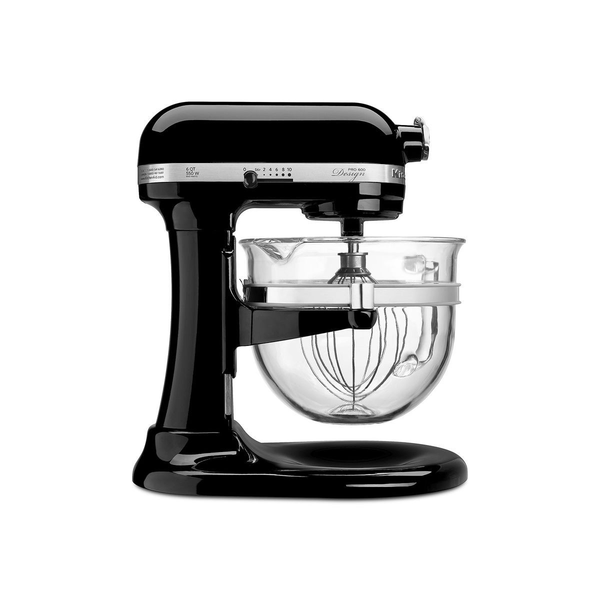 Kitchenaid Kf26m22 Pro 600 Design Series 6 Qt Stand Mixer Black