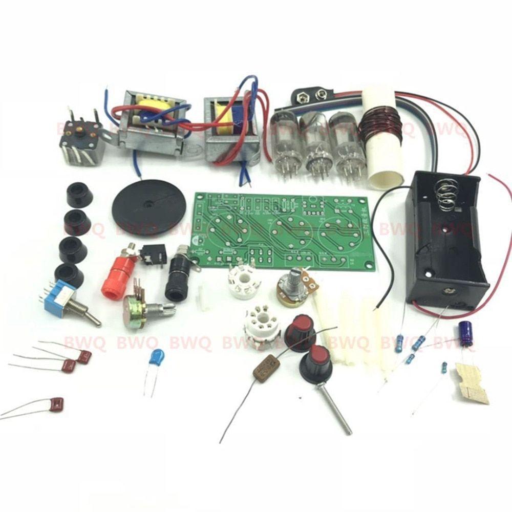 2019 的 tube radio CW SSB receiver DIY KIT DC With the base