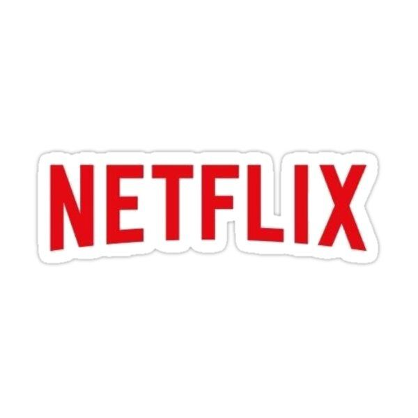 Netflix logo  Sticker