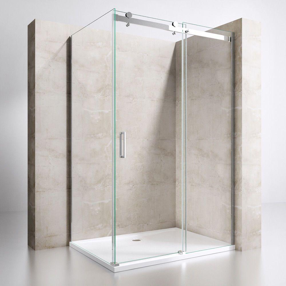 Details zu Duschabtrennung Duschkabine Schiebetür NANO 8mm