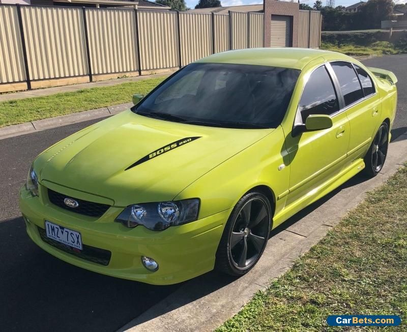 Car For Sale 2004 Ford Falcon Ba Xr8 Boss 260 Mk2