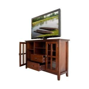Simpli Home Artisan Tv Stand Axchol005 At The Home Depot Home