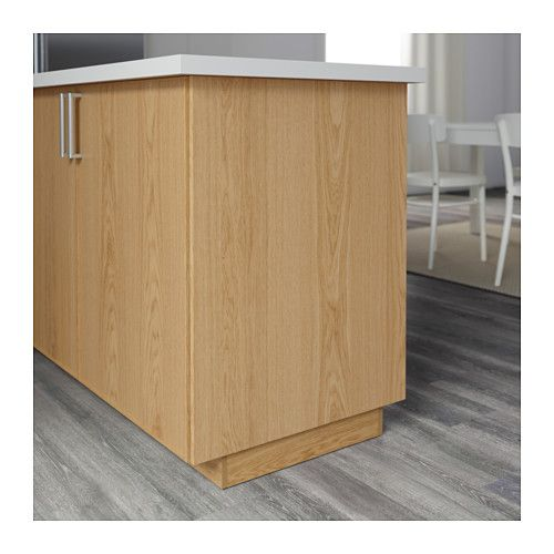 EKESTAD Cover panel, oak - unterschrank küche 60 cm