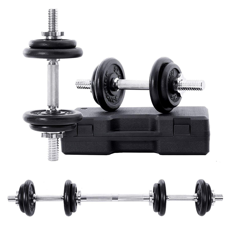 Néoprène Main Poids Haltères Set 4 kg 6 kg Fitness Exercice Entraînement Femme
