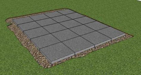Storage Shed Foundation Inside Playhouses In 2018 Pinterest