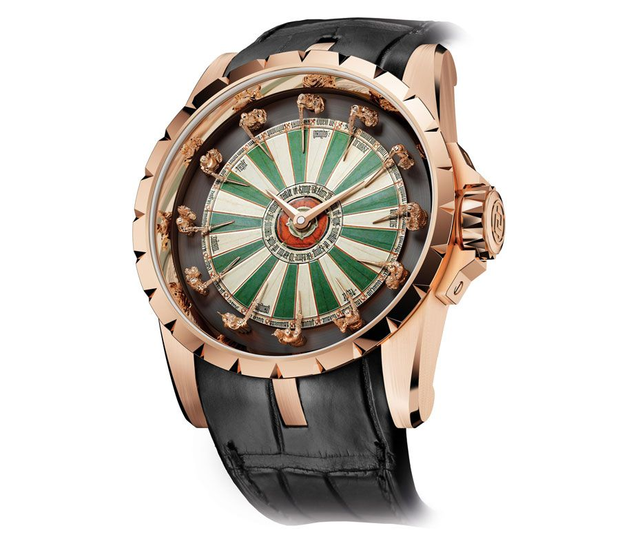 Описание часов: продажа мужских наручных часов #rogerdubuis excalibur knights of the round table, #часы ref.