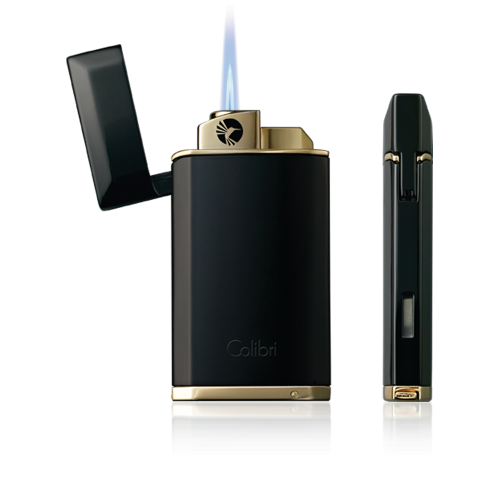 Colibri Evoke jetflame lighter. Japanese style black lacquer finish. €69