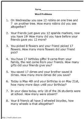 1000+ images about Math- word problems on Pinterest | Word ...