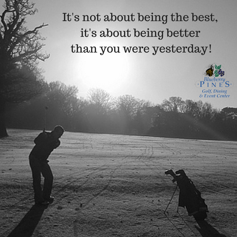 Work hard, play hard. Quotes GolfQuotes Golf school