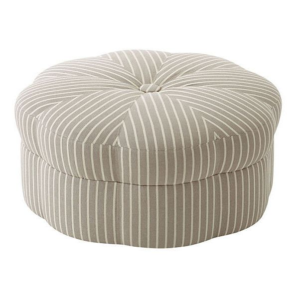 Cool Saroya Cocktail Ottoman Gray Stripe Ottomans 995 Liked Pdpeps Interior Chair Design Pdpepsorg