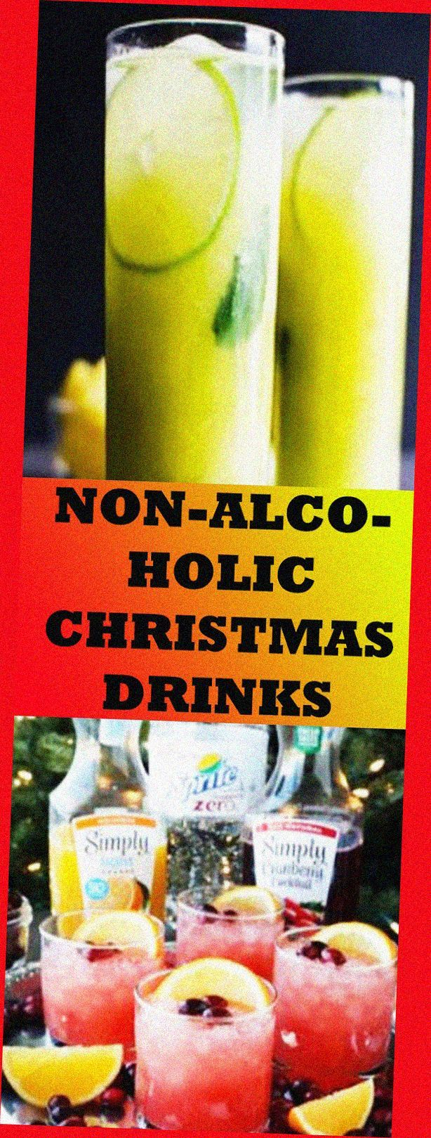 NON-ALCOHOLIC CHRISTMAS DRINKS THAT ARE PERFECT FOR THE HOLIDAYS RECIPES #nonalc…