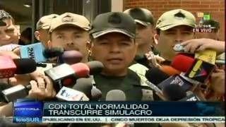 Venezuela realiza simulacro electoral