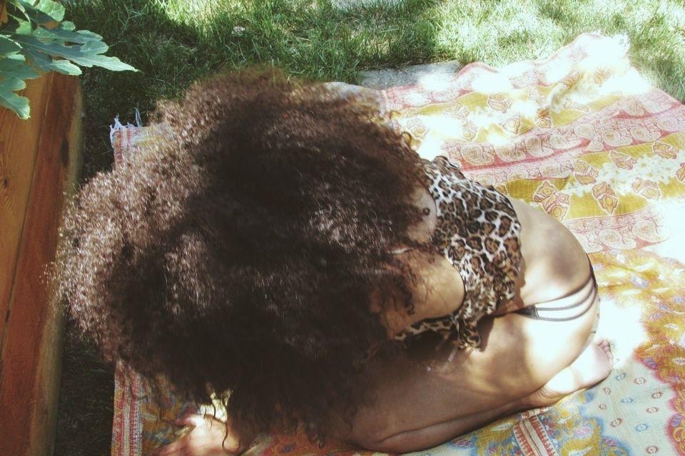 nest of hair.