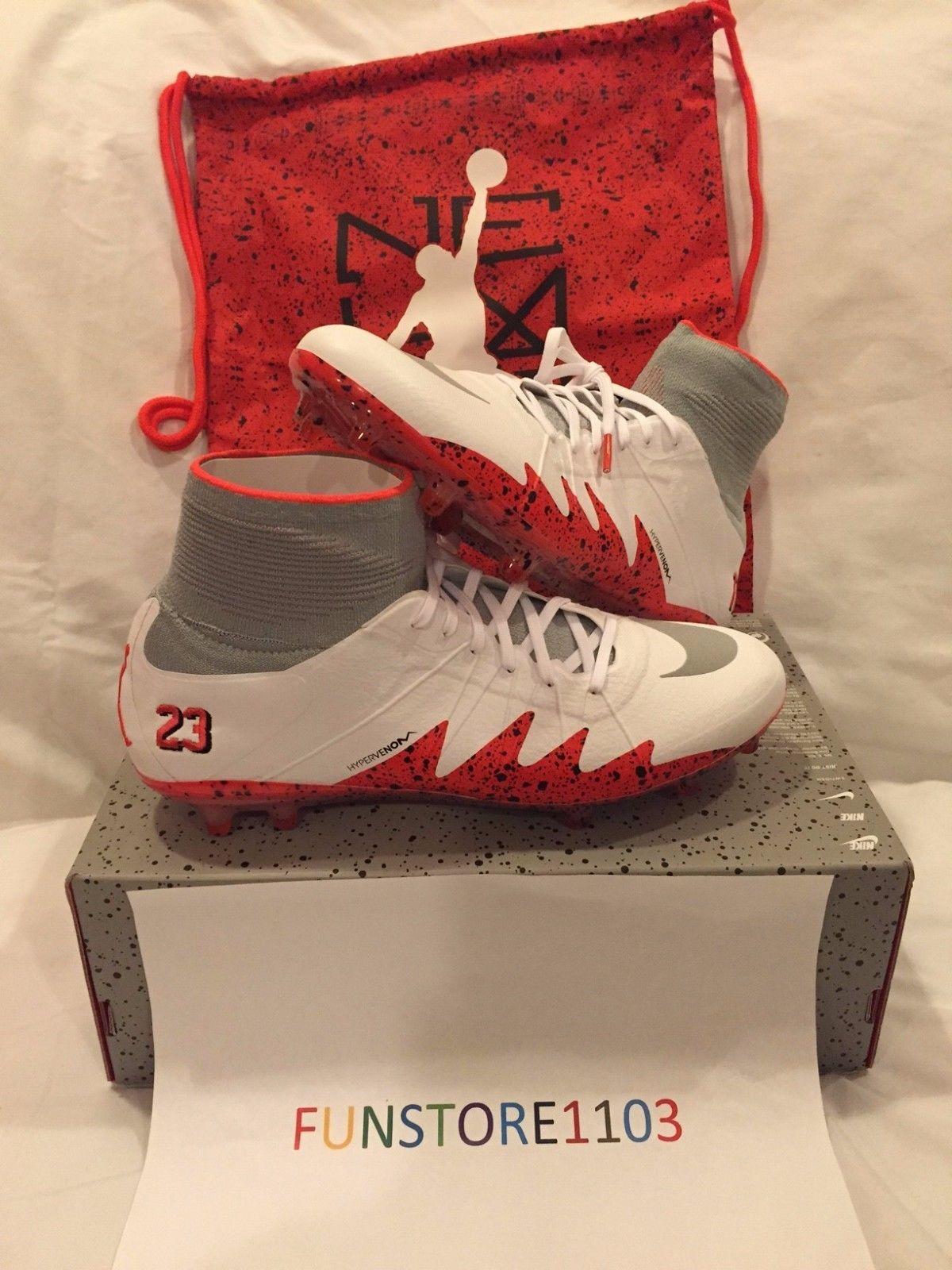a2b5c1b1db2749 Nike Hypervenom Phantom II NJR FG Neymar Jordan Soccer Cleats 820117-106 Sz  10.5