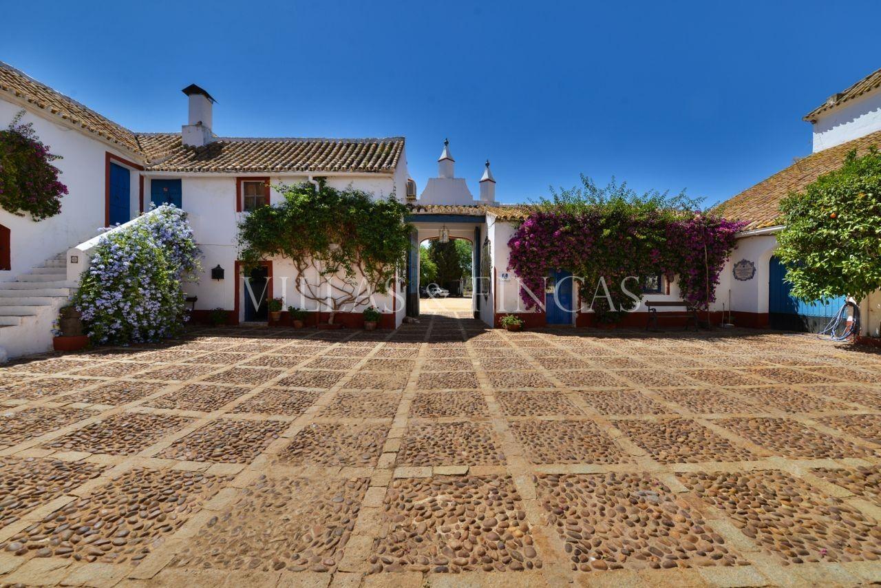 Cortijo en venta en sevilla preciosa hacienda del siglo for Oficinas de hacienda en sevilla