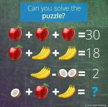 Pin by Janie Hardy Grissom on Brain Teasers | Maths ...