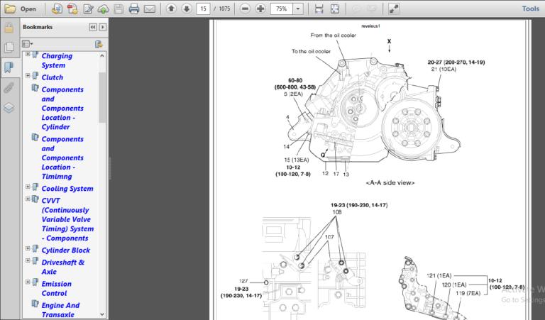 Kia Rio Workshop Manual 2001 2008 Pdf Download In 2020 Kia Rio Rio Kia