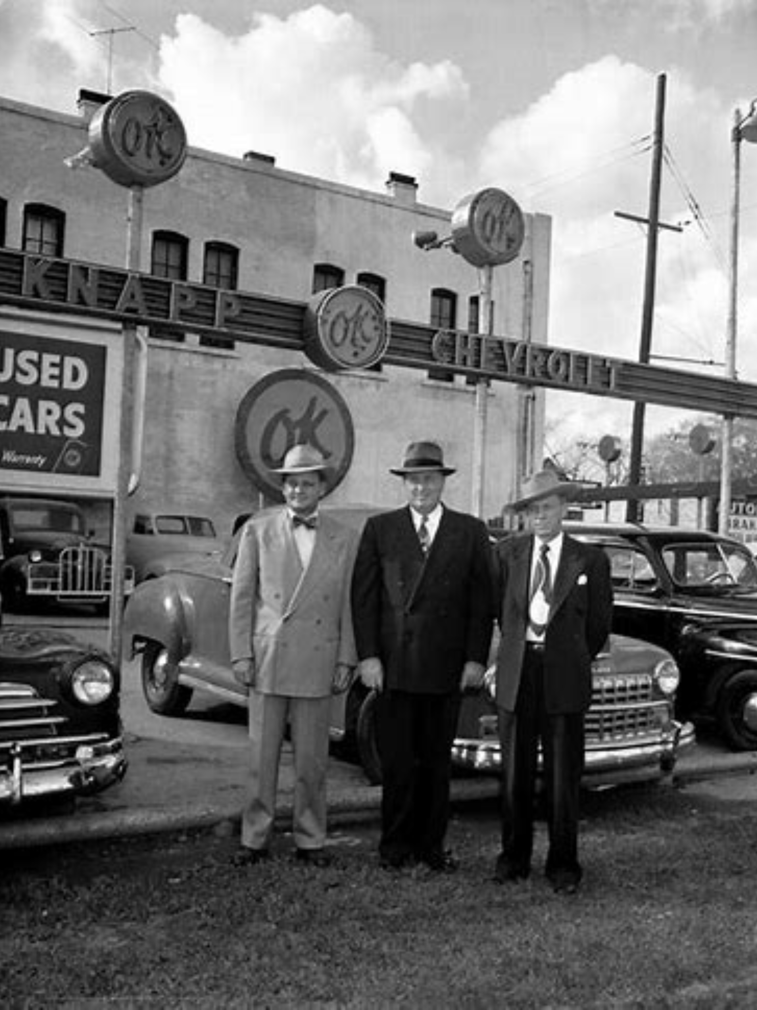 1940 S Knapp Chevrolet Dealership Houston Texas Chevrolet