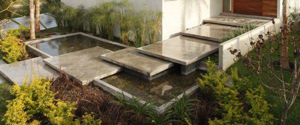 Moderne Gärten Bilder Beispiele Gartengestaltung Originell Konzept