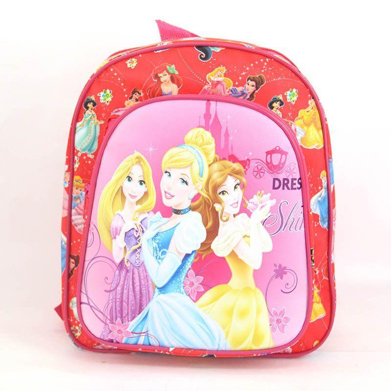 2016 Children Cartoon Backpacks For Kindergarten Kids Minions Elsa Sofia Bag School Bags For Girl Infantil Fashion mens backpack