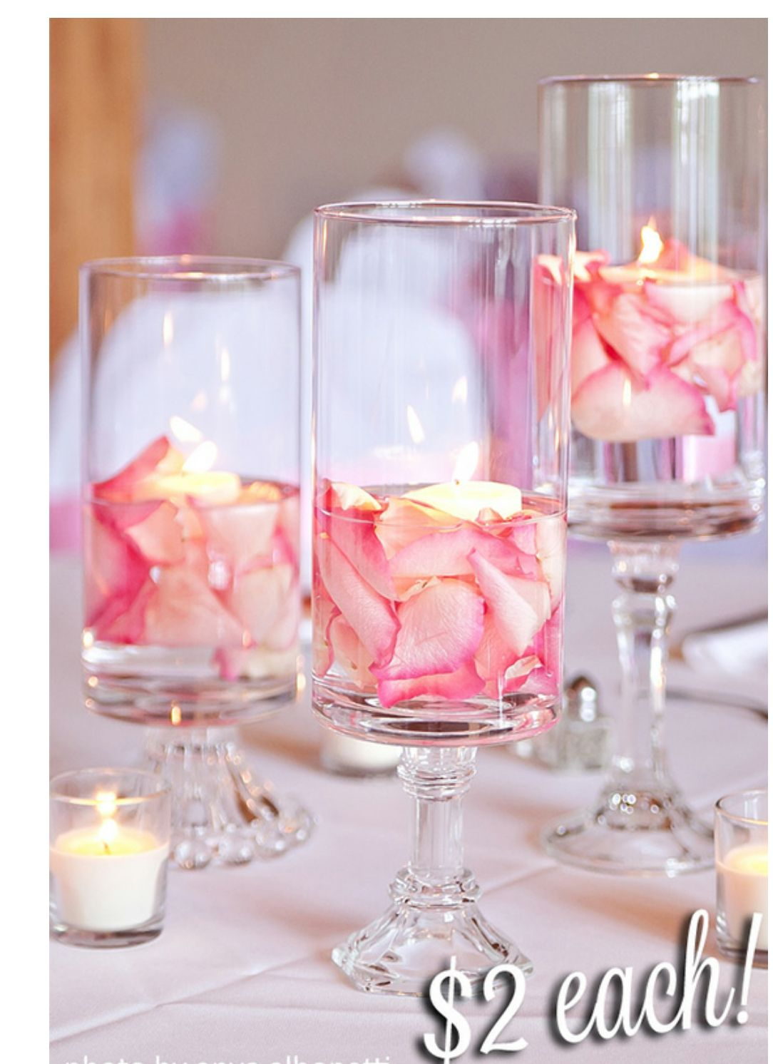 Guest table or centerpiece | I Love Weddings | Pinterest | Vidrio ...